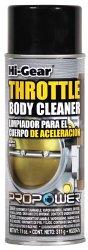 Hi-Gear HG3247s Throttle Body Cleaner – 11 fl. oz.