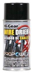 Hi-Gear HG5507s Wire Drier – 8.5 fl. oz.