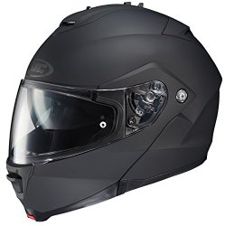 HJC IS-MAX II Modular Motorcycle Helmet (Matte Black, Medium)