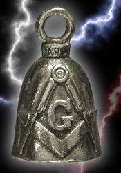 Masonic Motorcycle Chopper Lucky Guardian Ride Bell