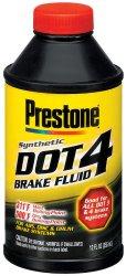 Prestone AS800P Dot 4 Brake Fluid – 12 oz.