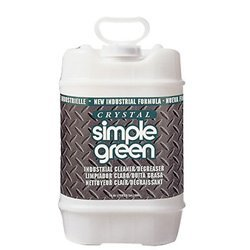 Simple Green 19005 Crystal Industrial Cleaner/Degreaser, 5 Gallon Pail