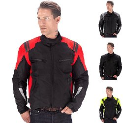 Viking Cycle Ironborn Motorcycle Jacket (Red-S)