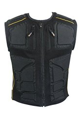 Xelement CF-244 Mens Padded Vest with Tri-Tex Fabric and Mesh – 3X-Large