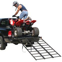 74″ Portable Steel Tri-Fold ATV Loading Ramp