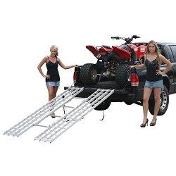 85″ x 46″ Tri-Fold ATV Loading Ramp for 4×4 Raised Trucks