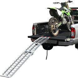 89″ Single Arched Folding Dirt Bike Ramp for Pickups & Trailers