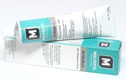 Dow Corning Molykote 44 Medium Grease Lubricant 5.3oz 150g Tube