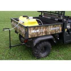 Great Day PLP2509-UTV2 Plot-Pro 25 Gallon Spray System For 2 Inch Receiver Hitch – 1.8 GPM 15 Foot Pattern Single Tip