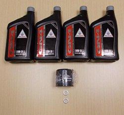 New 2002-2008 Honda VTX 1800 VTX1800 OE Oil & Filter Service Kit
