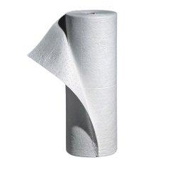 New Pig MAT462 Polypropylene Oil-Only Absorbent Mat Roll, 20.1 Gallon Absorbency, 150′ Length x 30″ Width, White