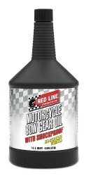 Red Line 42724 80W Motorcycle Gear Oil with Shockproof – 12/1  Quart