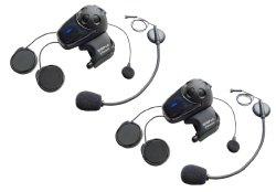 Sena SMH10D-11 Motorcycle Bluetooth Headset / Intercom with Universal Microphone Kit (Dual)