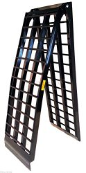 Titan 9′ HD Wide 4-Beam Truck Loading Ramp for Motorcycle Harley Cruiser 108-D