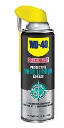 WD-40 300243 Specialist Lithium Grease Spray, 10 oz, White
