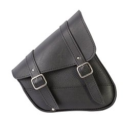 Willie & Max 59778-00 Synthetic Leather Swing Arm Bag for Harley-Davidson Sportster