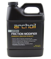 Ar9100 (32 Oz) Friction Modifier – Treats up to 32 Quarts of Engine Oil – Stiction Solution