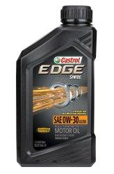 Castrol 06244 EDGE 0W-30 SPT Full Synthetic Motor Oil – 1 Quart Bottle, (Pack of 6)