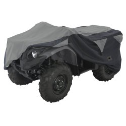 Classic Accessories 15-062-053804-00 Black/Grey X-Large Deluxe ATV Storage Cover