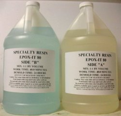 Clear Epoxy Resin for Bar Tops, Encapsulating, or Casting (1 Gallon)