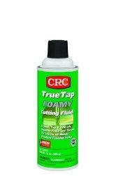 CRC TrueTap Foamy Foaming Cutting Fluid, 13 oz Aerosol Can, Clear