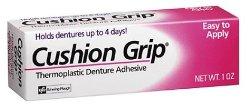 Cushion Grip Thermoplastic Denture Adhesive – 1 oz