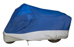 Dowco 26034-01 Guardian UltraLite Motorcycle Cover, Blue – Large
