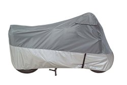 Dowco 26035-00 Guardian UltraLite Plus Motorcycle Cover, Gray – Medium