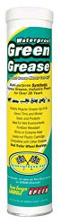 Green Grease 101 Synthetic Waterproof High Temperature Grease, 14 Oz. Tube