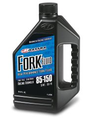 Maxima (59901-5) 85/150 Grade 5WT Zero Drag Formula Racing Fork Fluid – 1 Liter