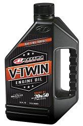Maxima Racing Oils 30-06901 20w50 V-Twin Mineral Engine Oil – 32 fl. oz.