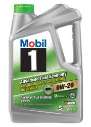 Mobil 1 Advanced Full Synthetic Motor Oil 0W-20 5 U.S. QTS/4.73L.