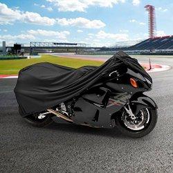 NEH® Motorcycle Bike Cover Travel Dust Storage Cover For Suzuki GSXR GS Gixxer Hayabusa 1300