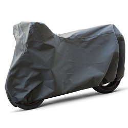 OxGord Signature Motorcycle Cover – 100% Water-Proof 5 Layers – Ready-Fit / Semi Custom – Fits up to 89 Inches