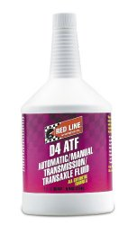Red Line 30504 D4 Automatic Transmission Fluid – 1 Quart
