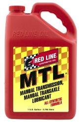 Red Line 50205 MTL 70W80 GL-4 Gear Oil – 1 Gallon