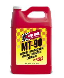 Red Line 50305 Manual Transmission (MT) 90W Gear Oil – 1 Gallon, (Pack of 4)