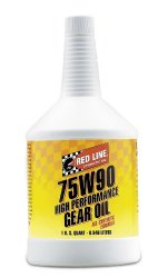 Red Line 57904 (75W90) Synthetic Gear Oil – 1 Quart