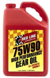 Red Line 57905 75W90 GL-5 Gear Oil – 1 Gallon