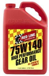 Red Line 57915 75W140 GL-5 Gear Oil – 1 Gallon