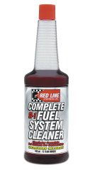 Red Line 60103-12PK Complete SI-1 Fuel System Cleaner – 15 Ounce, (Pack of 12)