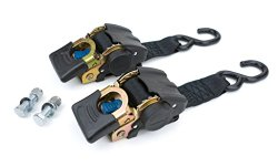 Reese Powersports (2060300) 43″ 2-Piece Retractable Transom Tie Down