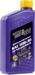 Royal Purple 12130 API-Licensed SAE 10W-30 High Performance Synthetic Motor Oil – 1 qt. (Case of 12)