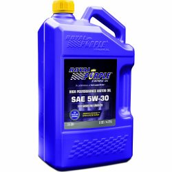 Royal Purple 51530 API-Licensed SAE 5W-30 High Performance Synthetic Motor Oil – 5 qt.