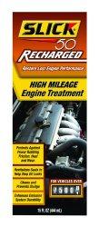 Slick 50 (750002) Recharged High Mileage Engine Treatment – 15 oz.