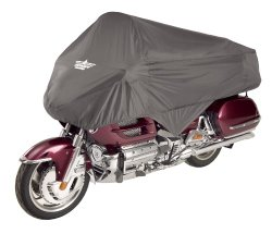 UltraGard 4-458G Charcoal Touring Motorcycle Half Cover