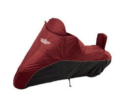 UltraGard 4-459AB Cranberry/Black Cruiser Motorcycle Cover