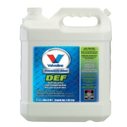 Valvoline 729566-2PK Premium Blue Diesel Exhaust Fluid – 2.5 Gallon, (Case of 2)
