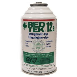 2 Cans – RED TEK 12a Refrigerant (6 Oz. Can) Freon Replacement