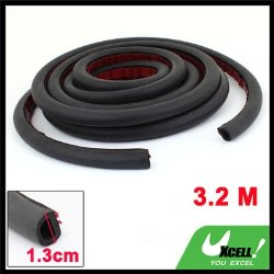 3.2M D Type Rubber Hollow Air Sealed Seal Strip